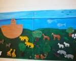 Flur mit der Arche Noah